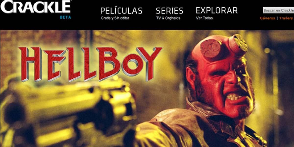 Sony Pictures lanza en Latinoamérica su servicio de entretenimiento en línea Crackle