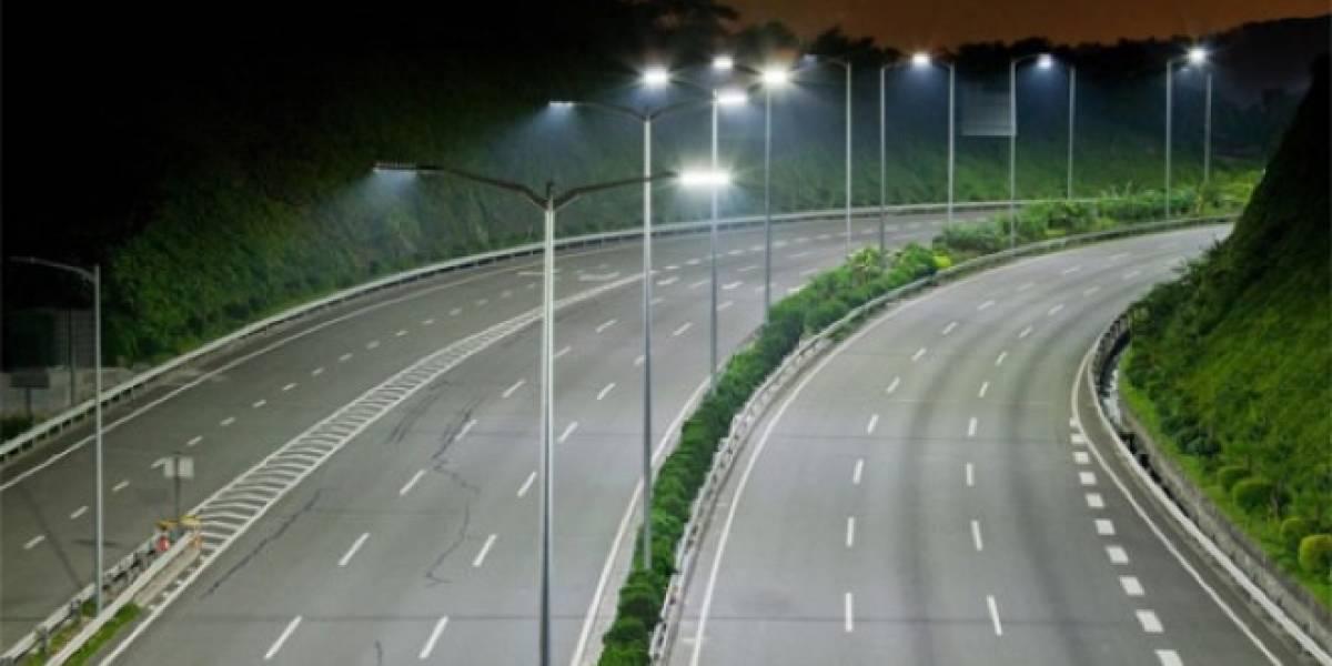 China ilumina sus carreteras con ampolletas LED