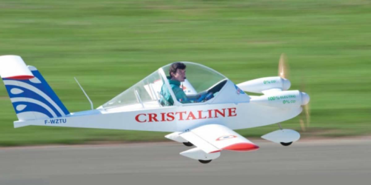 Avión eléctrico rompe record de velocidad logrado por él mismo
