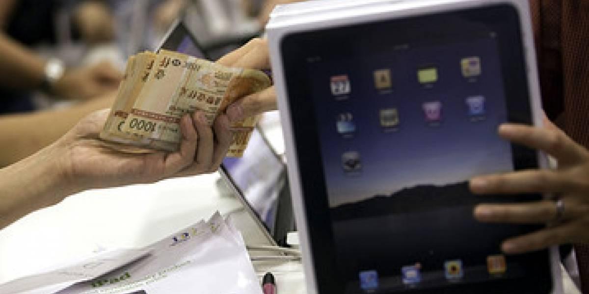 Contrabandistas usan amas de casa para entrar iPads a China