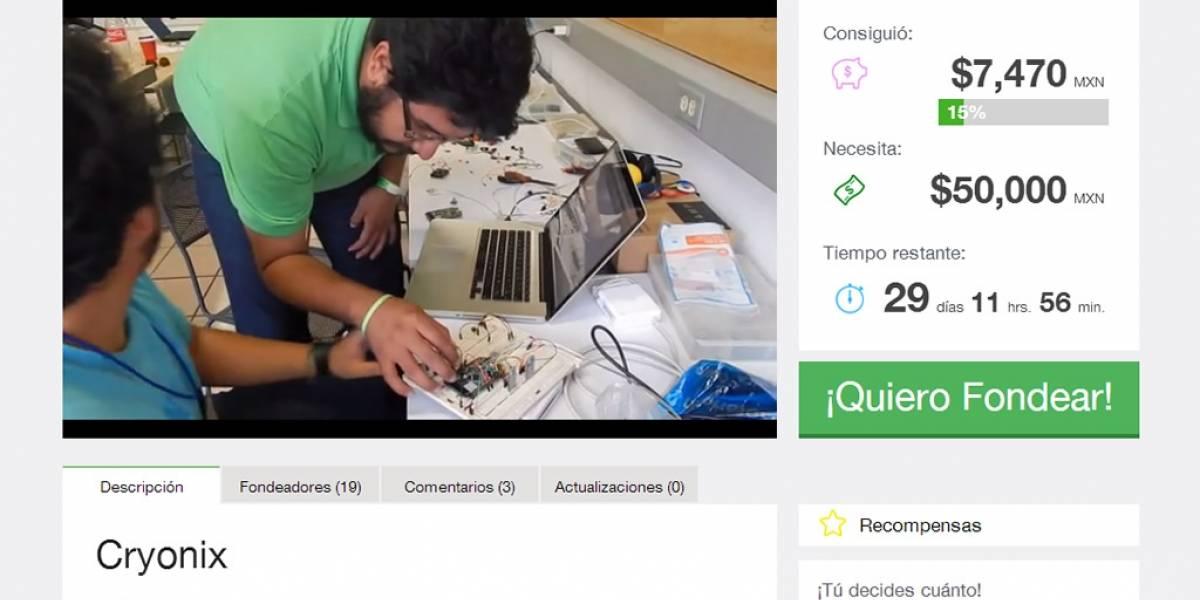 Cryonix fue el proyecto ganador en la Startup Weekend de Guadalajara
