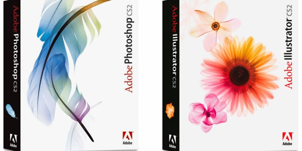 Adobe está regalando el paquete de programas Creative Suite 2 [Actualización: Fue un mal entendido]