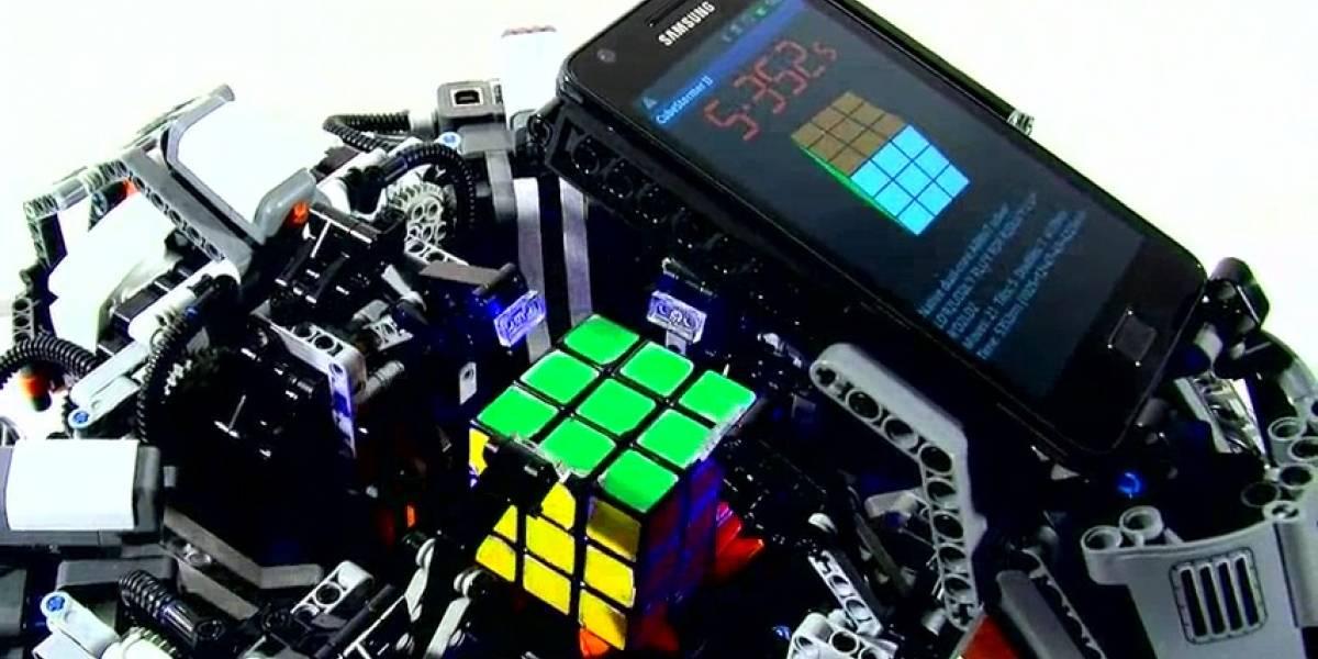 Una máquina ya resuelve el cubo Rubik más rápido que el mejor hombre