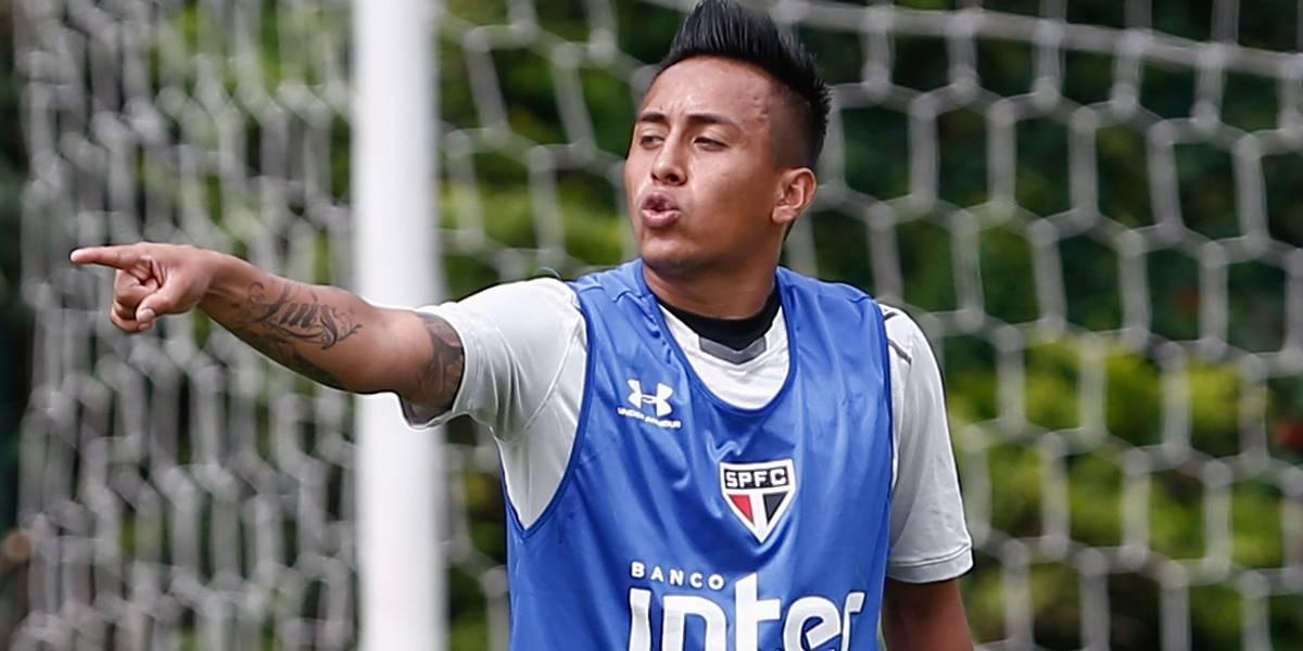 Após dez dias barrado, Cueva é liberado e pode voltar a jogar pelo São Paulo