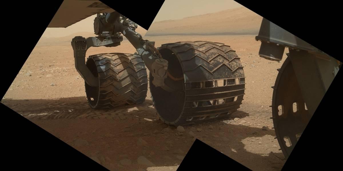 Curiosity ahora puede conducirse por sí mismo
