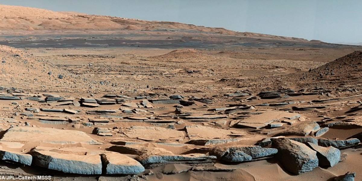 Curiosity investiga antiguo lago en Marte