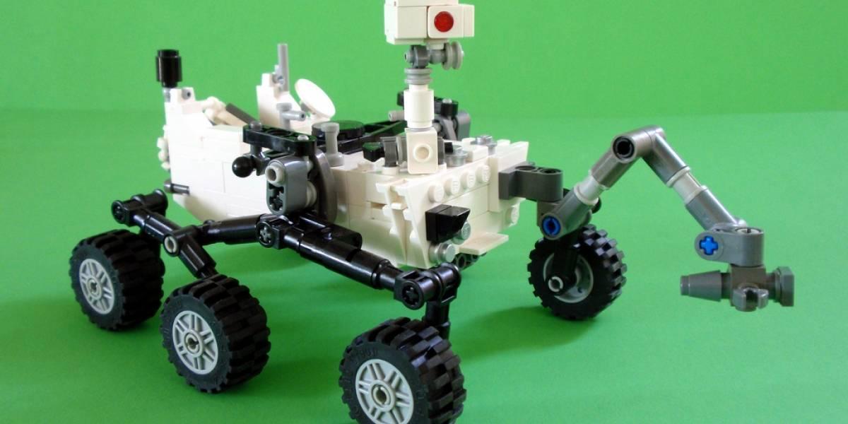 Lego creará un set para armar al rover Curiosity