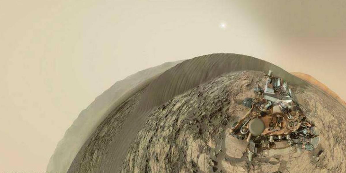 Curiosity comparte su primer autorretrato panorámico desde Marte
