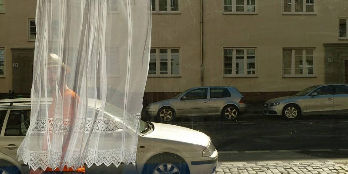 Cortina motorizada busca mantener tu privacidad