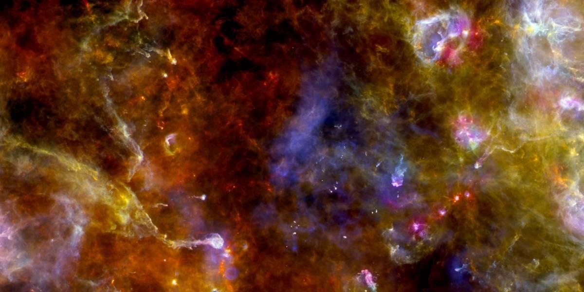 Telescopio Herschel capta imagen de Cygnus-X, donde nacen nuevas estrellas masivas