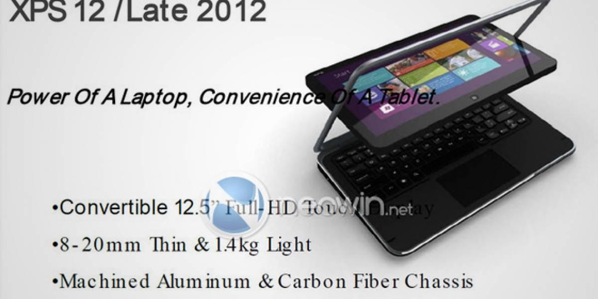 Filtración muestra futuro portátil híbrido Dell con Windows 8