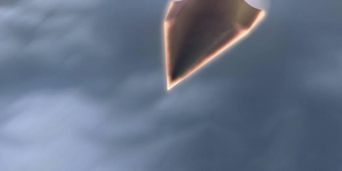 DARPA lanza súper nave hipersónica... y la pierde