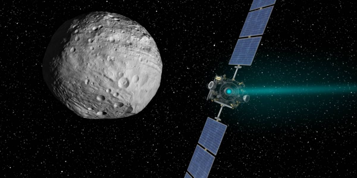La sonda Dawn entrará en la órbita de Ceres