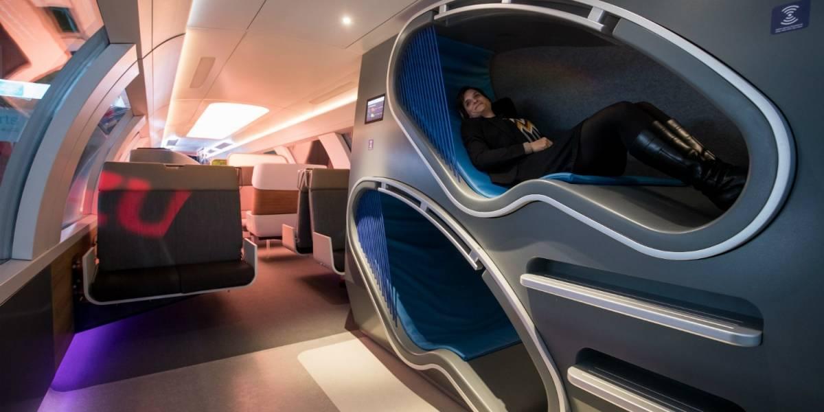 Los trenes del futuro tendrían gimnasios y consolas de videojuegos