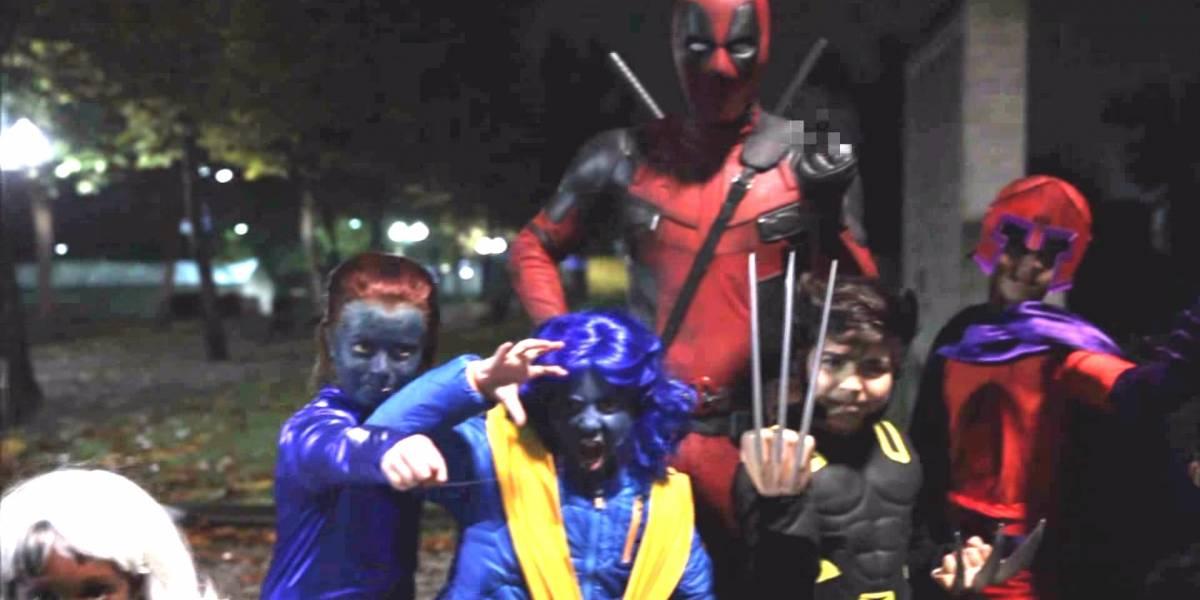 Deadpool se divierte en este genial promo de Halloween