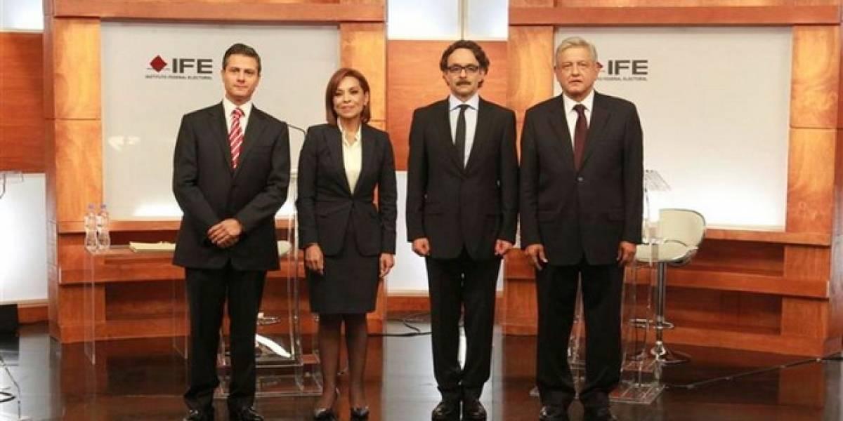 México: Debate con mucha actividad en Twitter