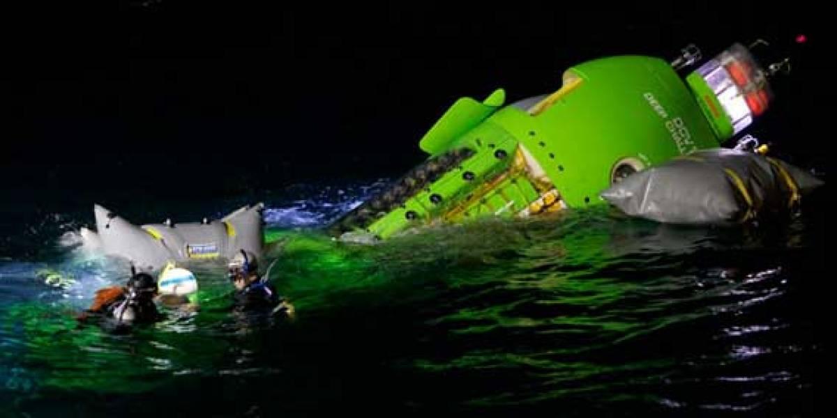 James Cameron dona submarino con el que bajó a la Fosa de las Marianas a institución oceanográfica