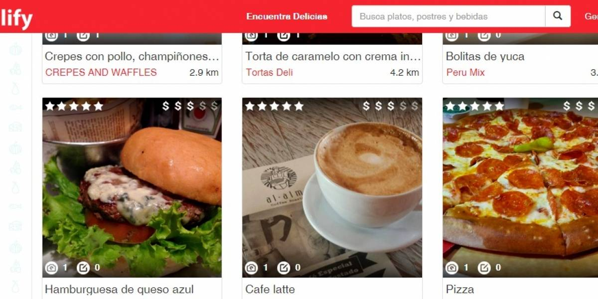 Con Delify podrás descubrir fácilmente nuevos lugares dónde comer lo que te encanta