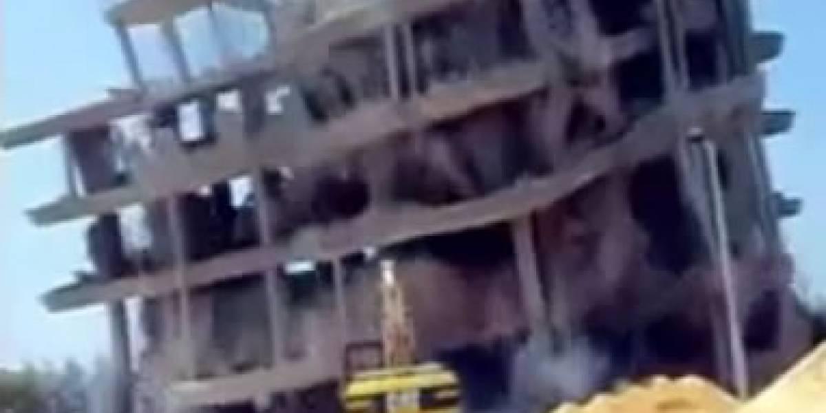 Cómo NO demoler un edificio (video)