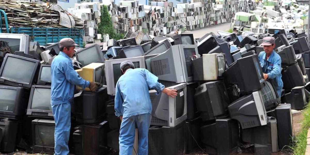Foto: Cementerio de artículos electrónicos
