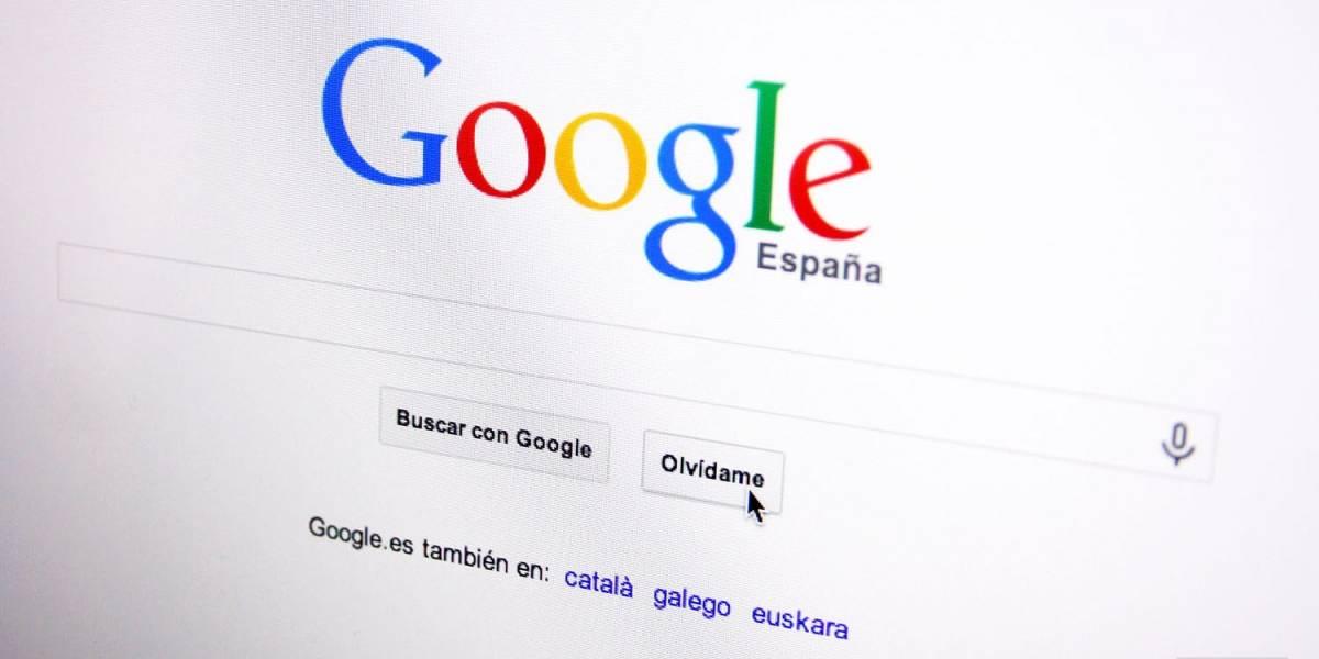 Google ha recibido casi 250.000 solicitudes de derecho al olvido en Europa
