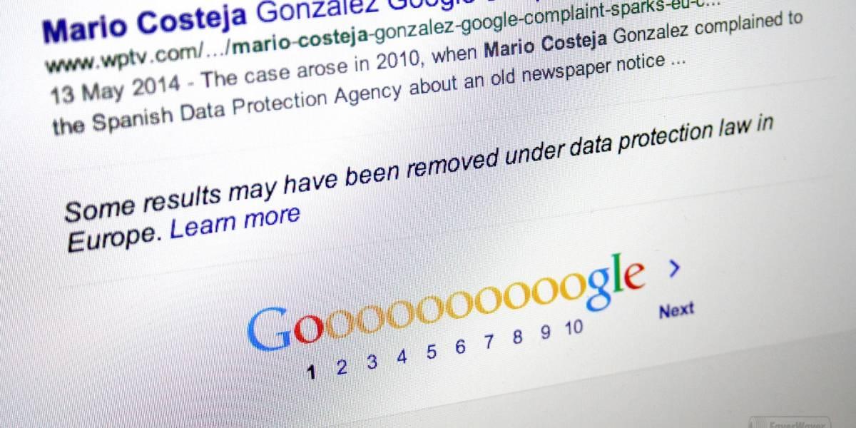 """Google nuevamente es criticado por el manejo del """"derecho al olvido"""""""