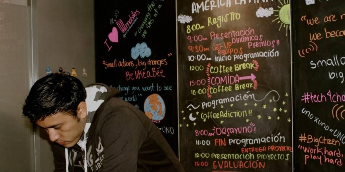 Sigue en vivo la hackatón Desarrollando América Latina