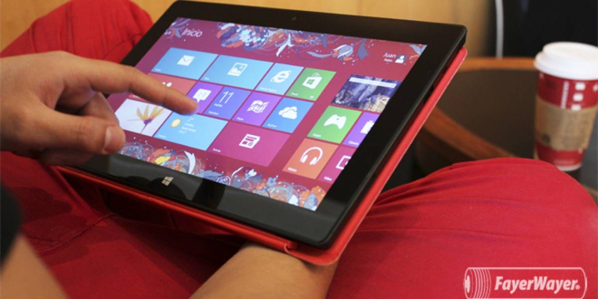 Microsoft Surface RT llegará a México en mayo