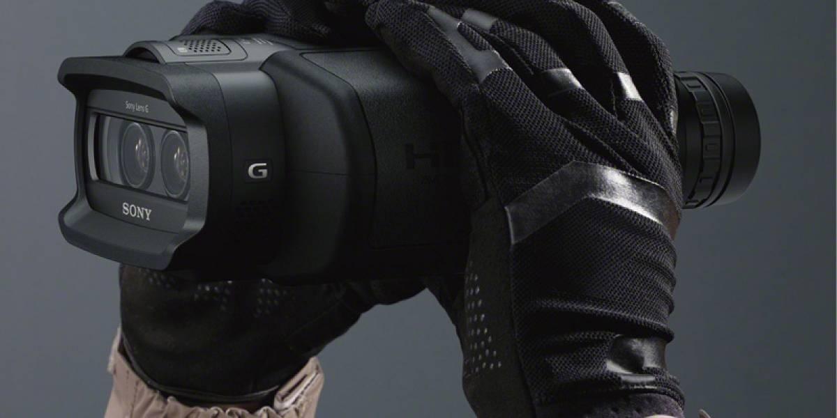 Sony lanza binoculares que sacan fotos y graban en HD y 3D