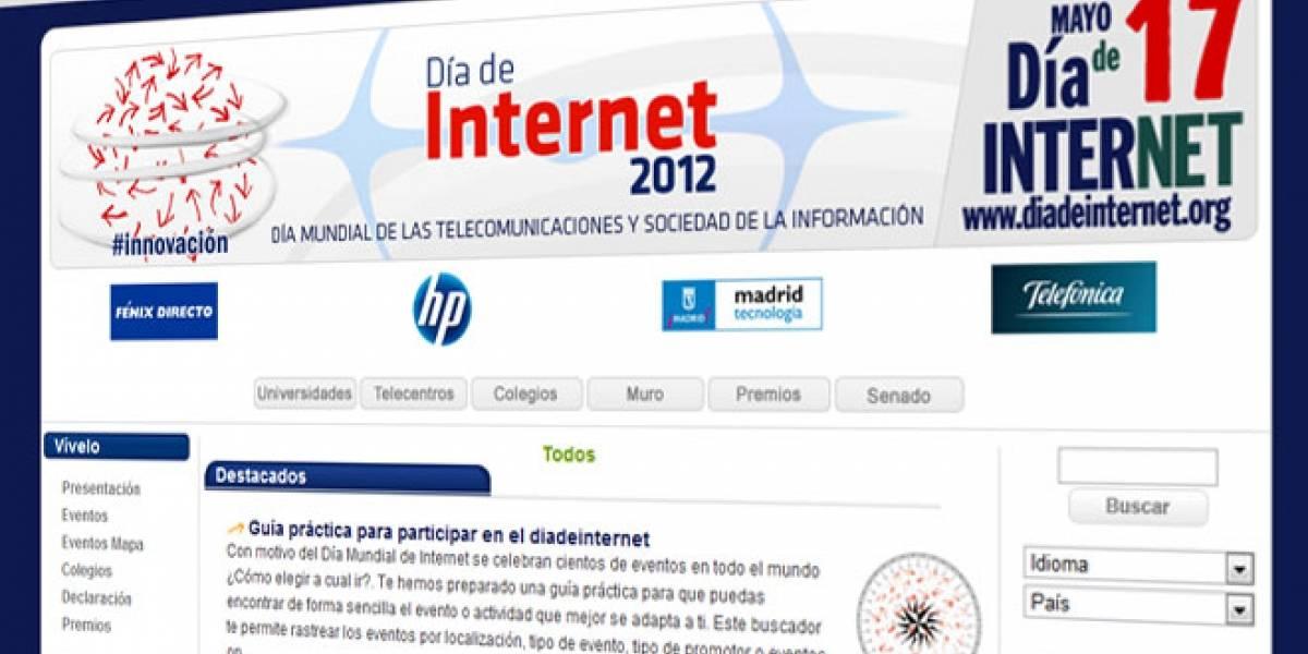 Celebraciones del Día de Internet 2012 en España y América Latina