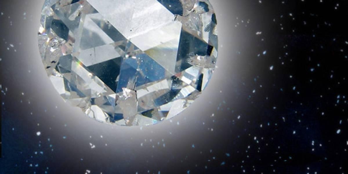 Descubren un planeta hecho de diamante