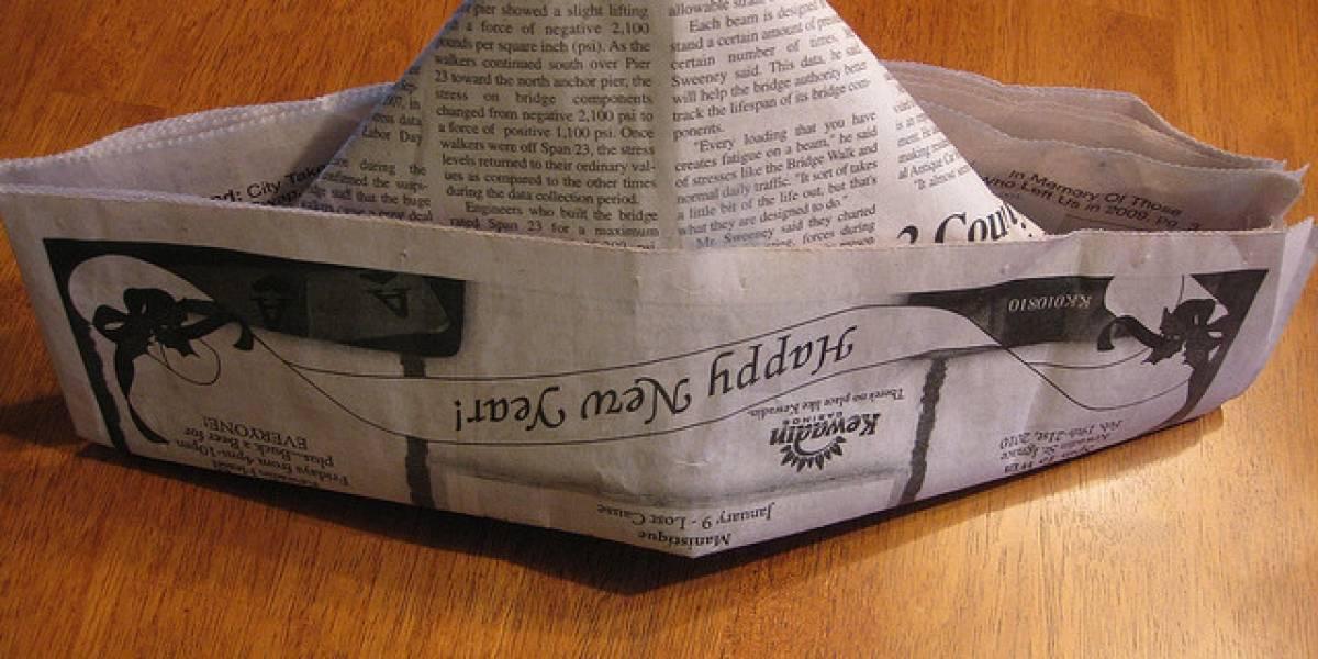 El mejor e-reader del mercado es: el periódico