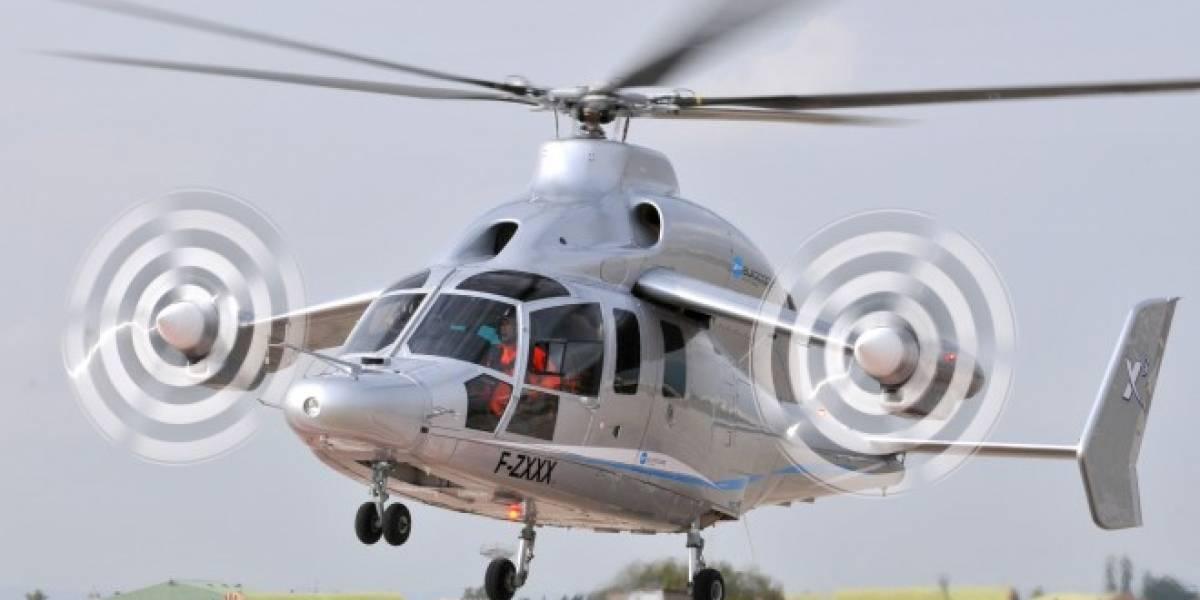 Eurocopter X3: Prototipo de helicóptero de alta velocidad