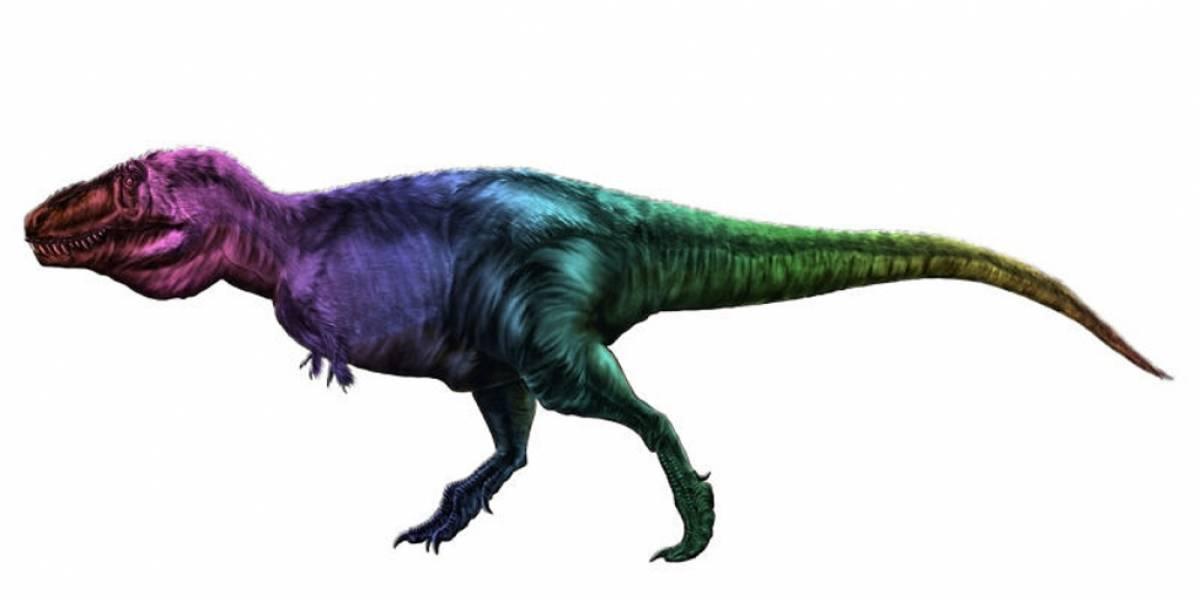 De qué color son realmente los dinosaurios