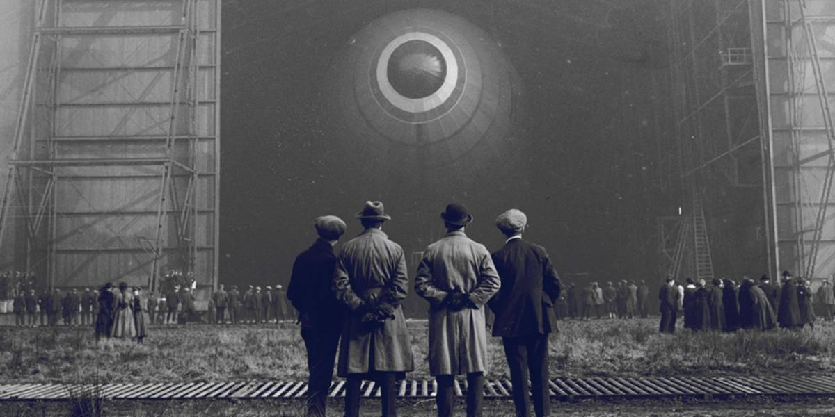 La desafortunada historia del dirigible