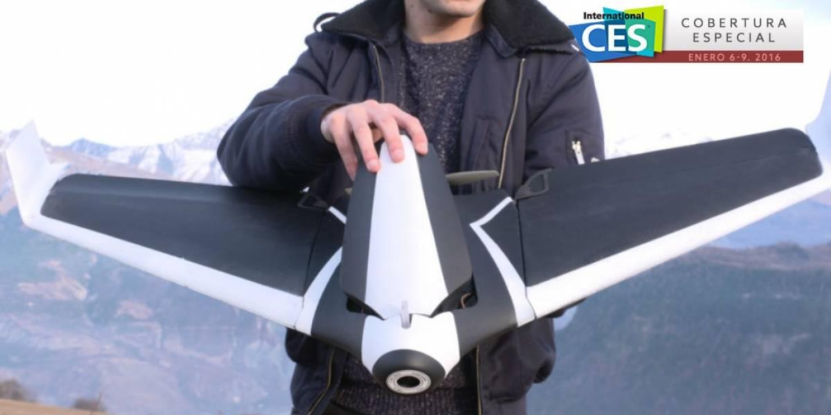 Parrot presenta el primer dron que no es quadcóptero #CES2016