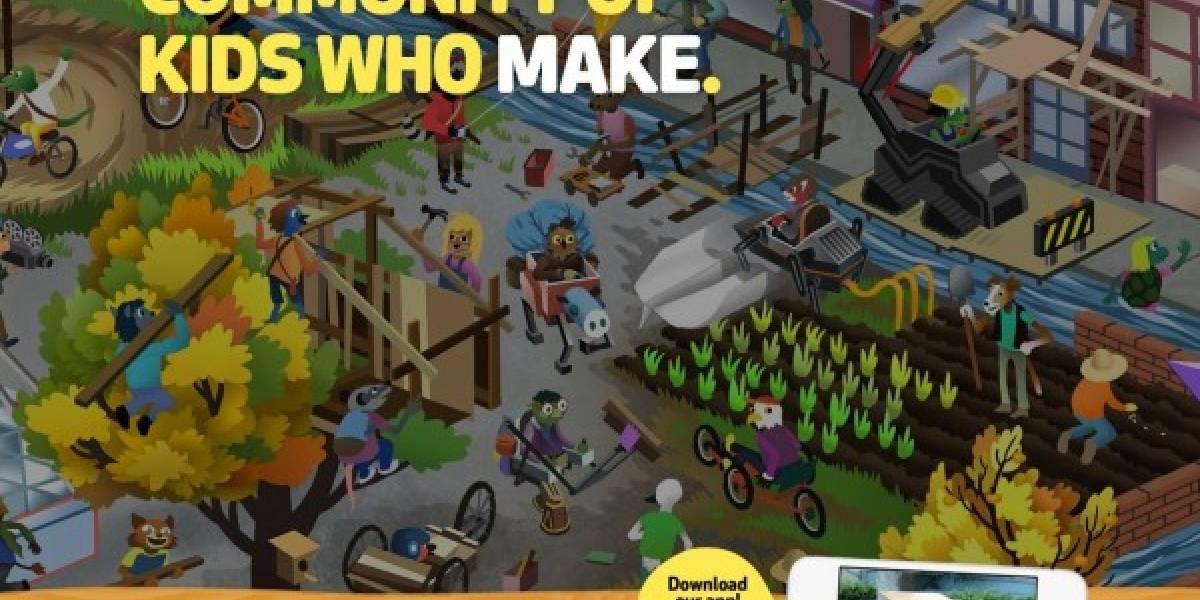 DIY: Una red social para niños inventores y artistas