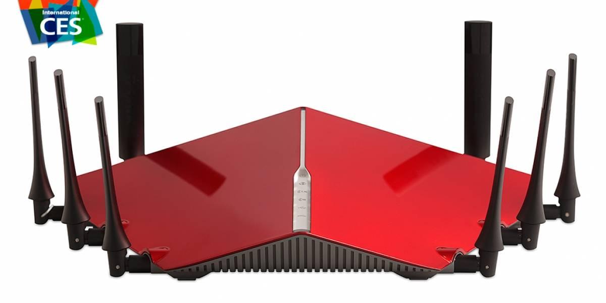 Los nuevos routers D-Link Ultra parecen drones #CES2015