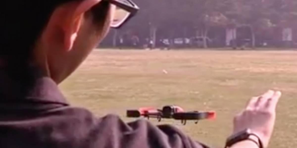 Dong, la nueva tecnología que permite volar un dron moviendo la mano