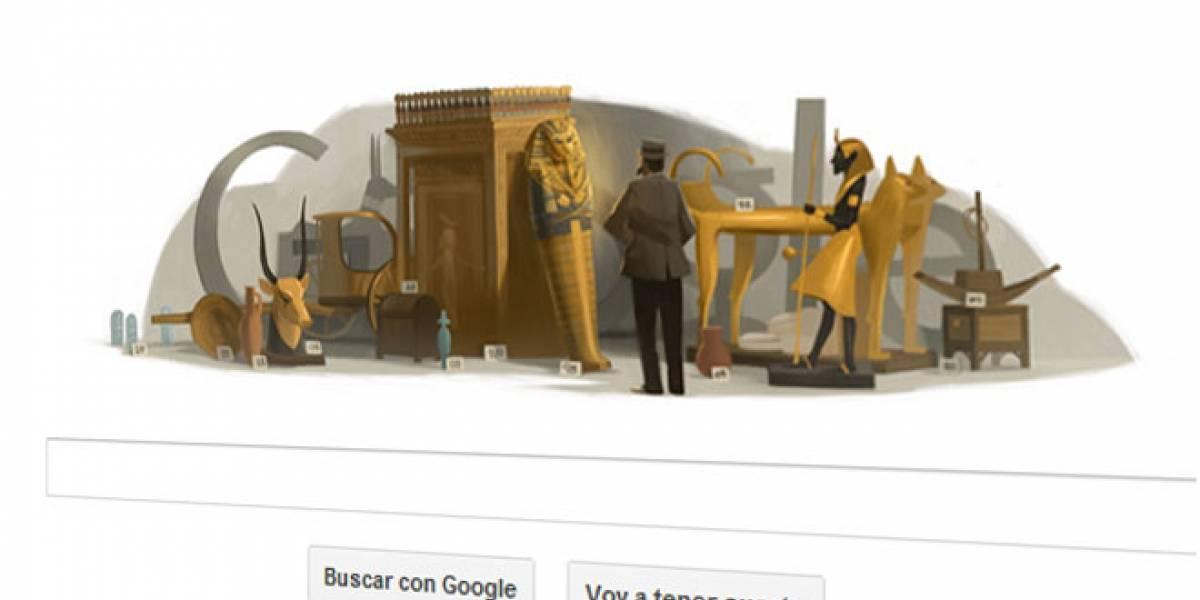 Google se esconde tras la tumba de Tutankamón