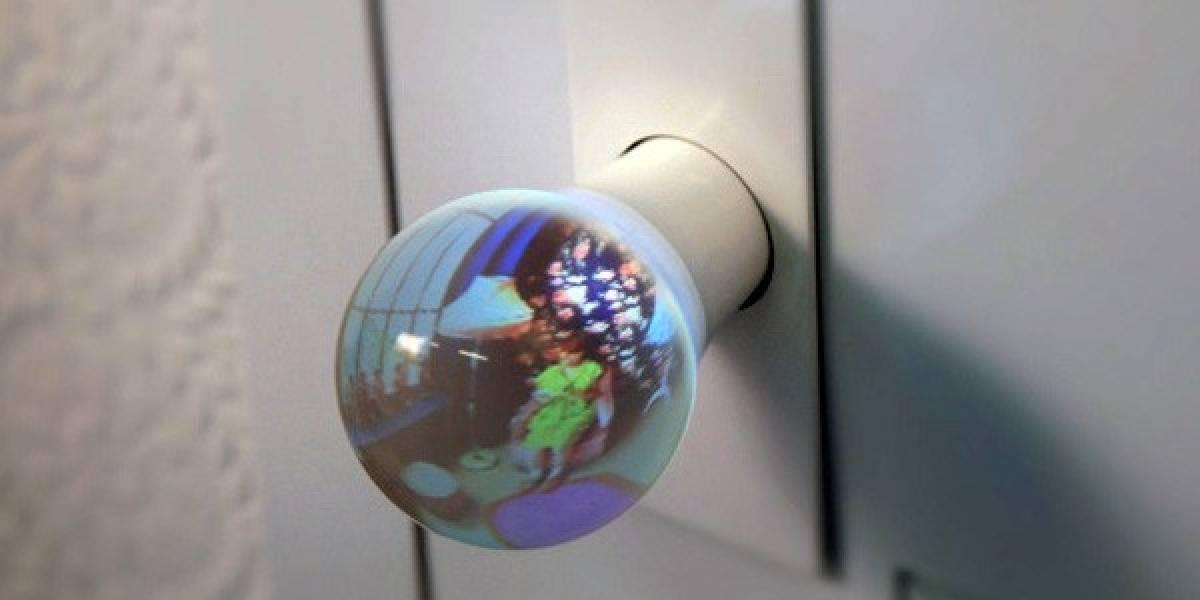 Manilla de vidrio te deja ver lo que hay al otro lado de la puerta