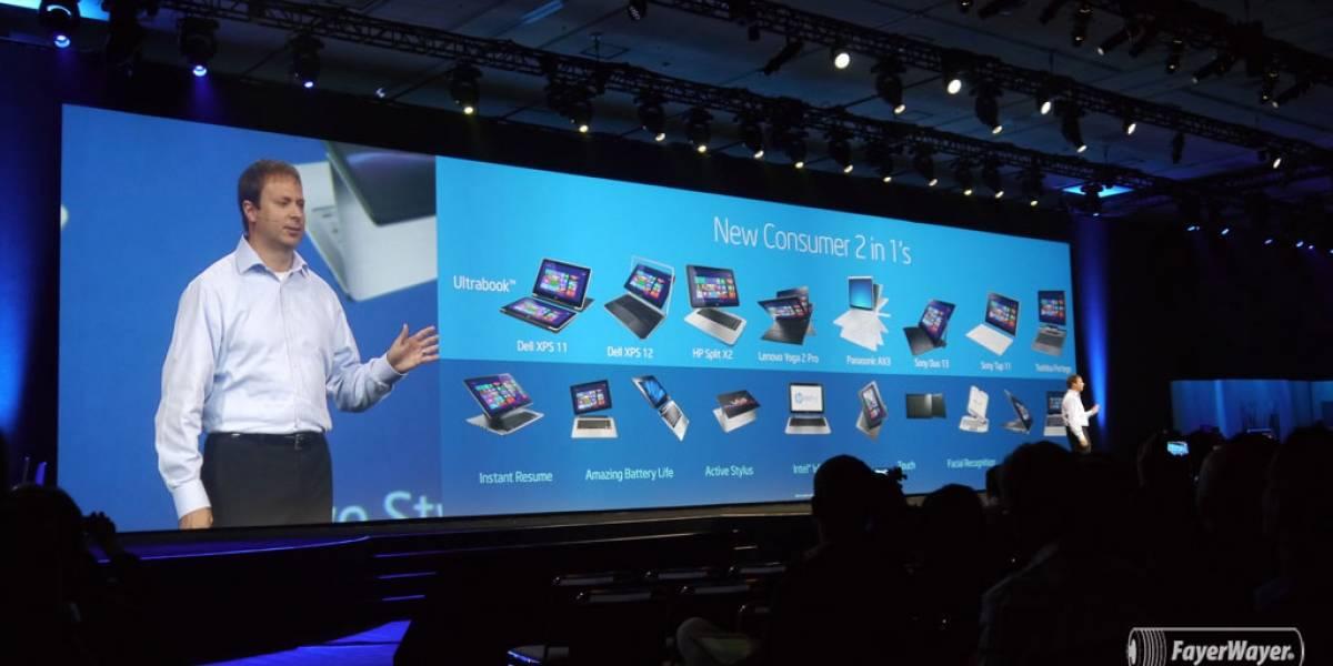 Notebooks con pantalla táctil bajarán de precio gracias a Bay Trail