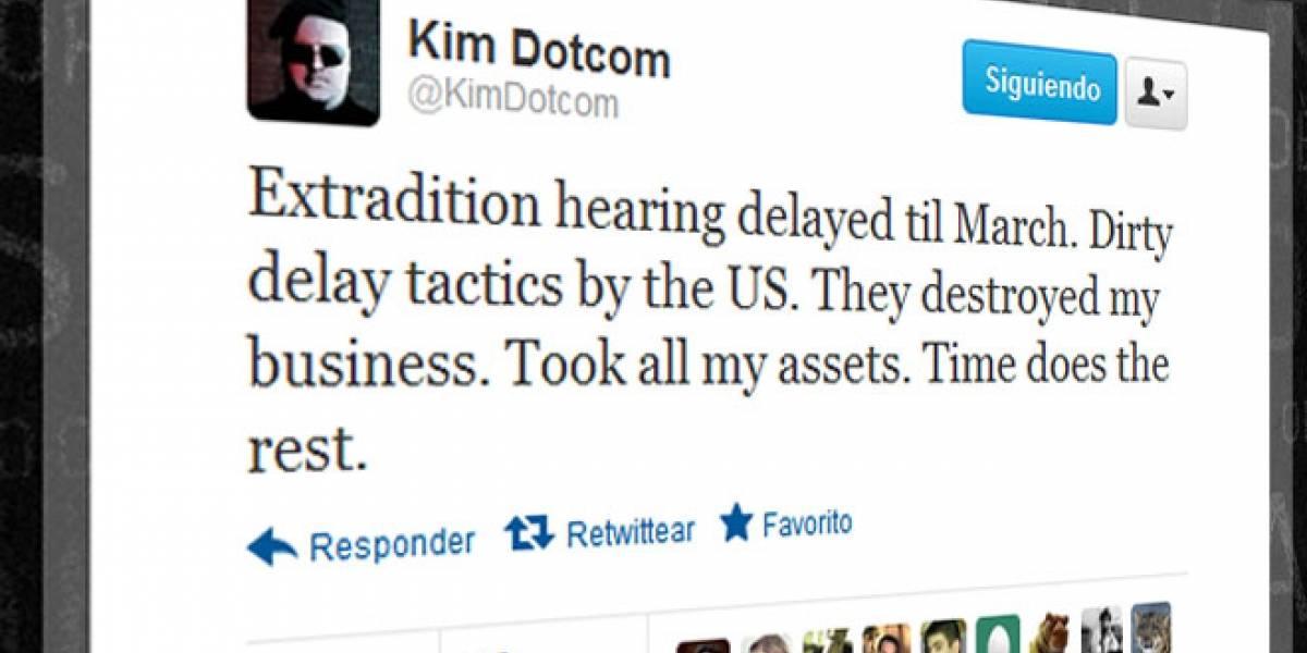 Retrasan proceso de extradición de Dotcom a EE.UU. hasta marzo de 2013
