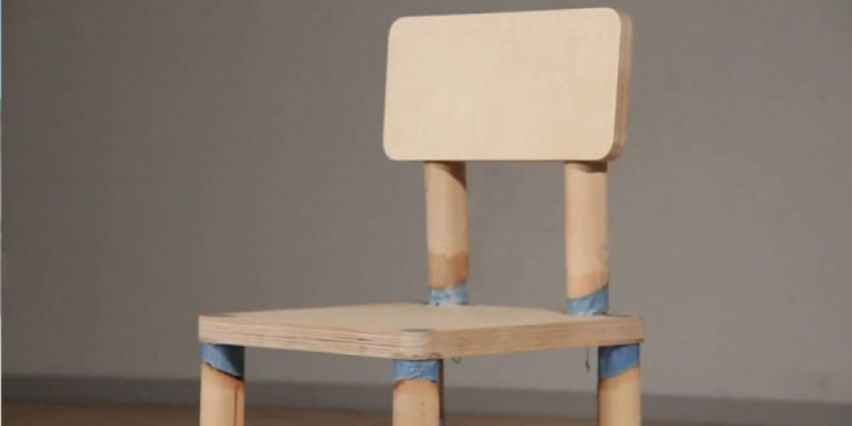 DRM Chair: La silla que se autodestruye después de ocho sentadas