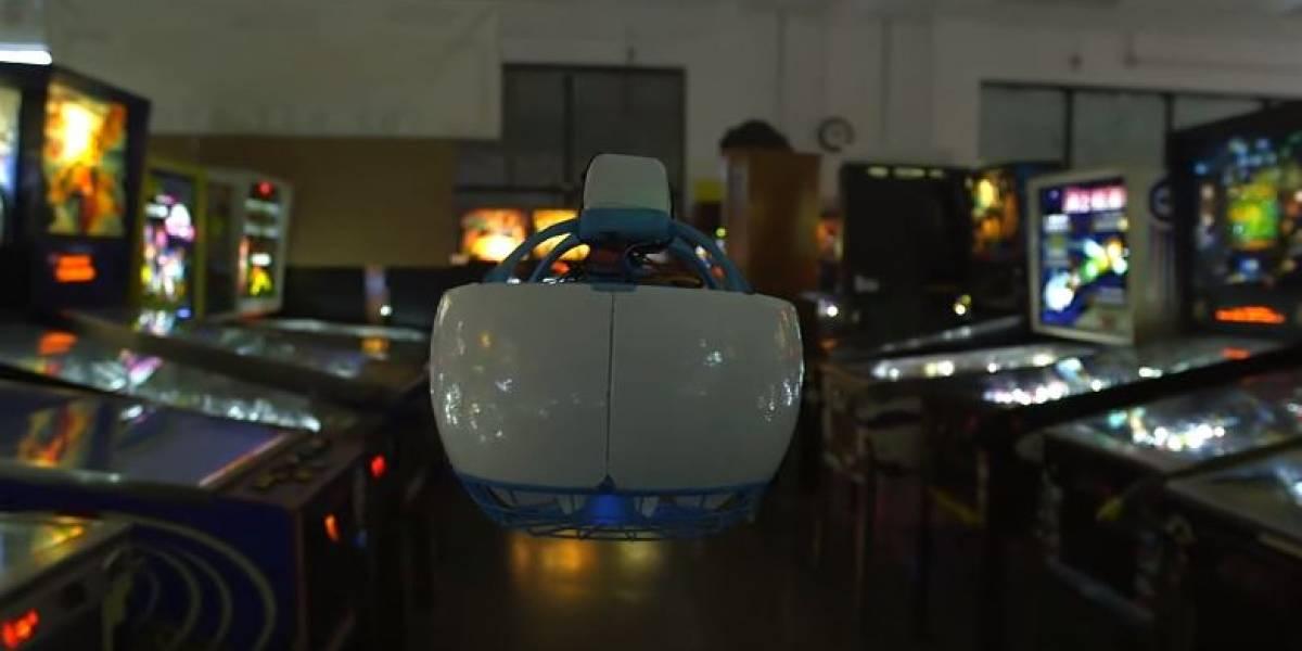 Periodista británica rompe el dron más seguro del mundo #CES2016