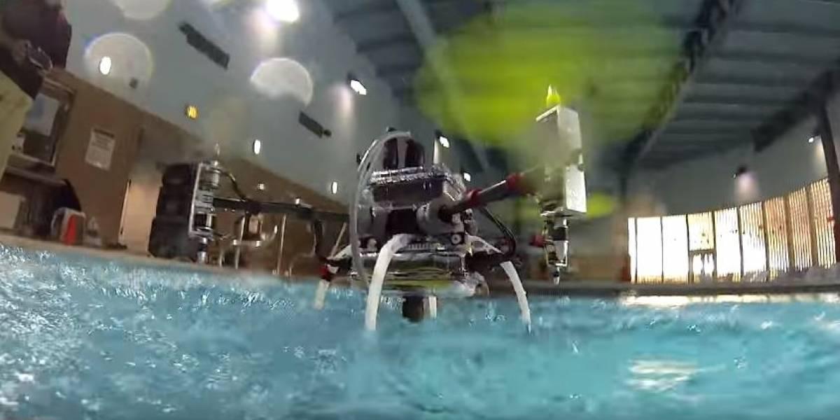 El Naviator es un dron que puede volar y nadar bajo el agua