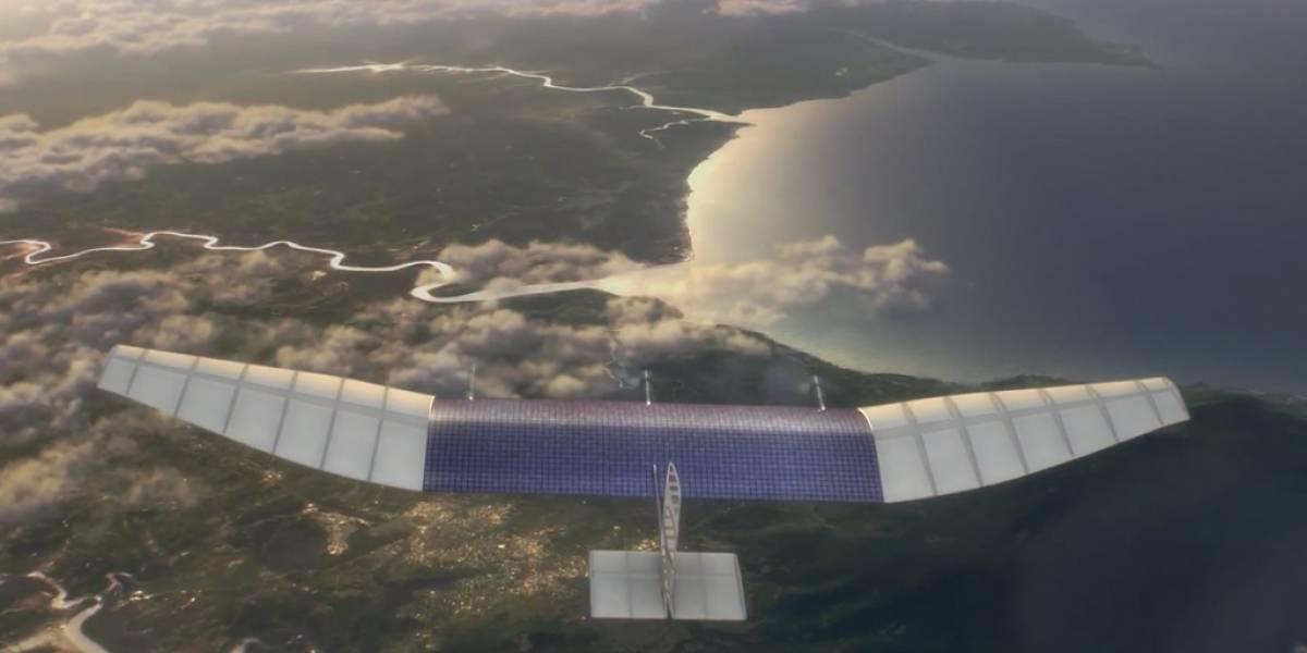Facebook crea laboratorio para construir drones y satélites para repartir Internet