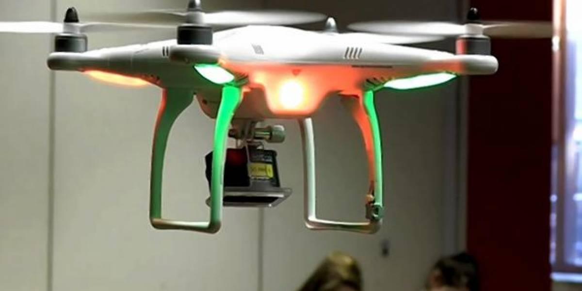 En Bélgica usan drones para que los alumnos no se copien en los exámenes [FALSO]