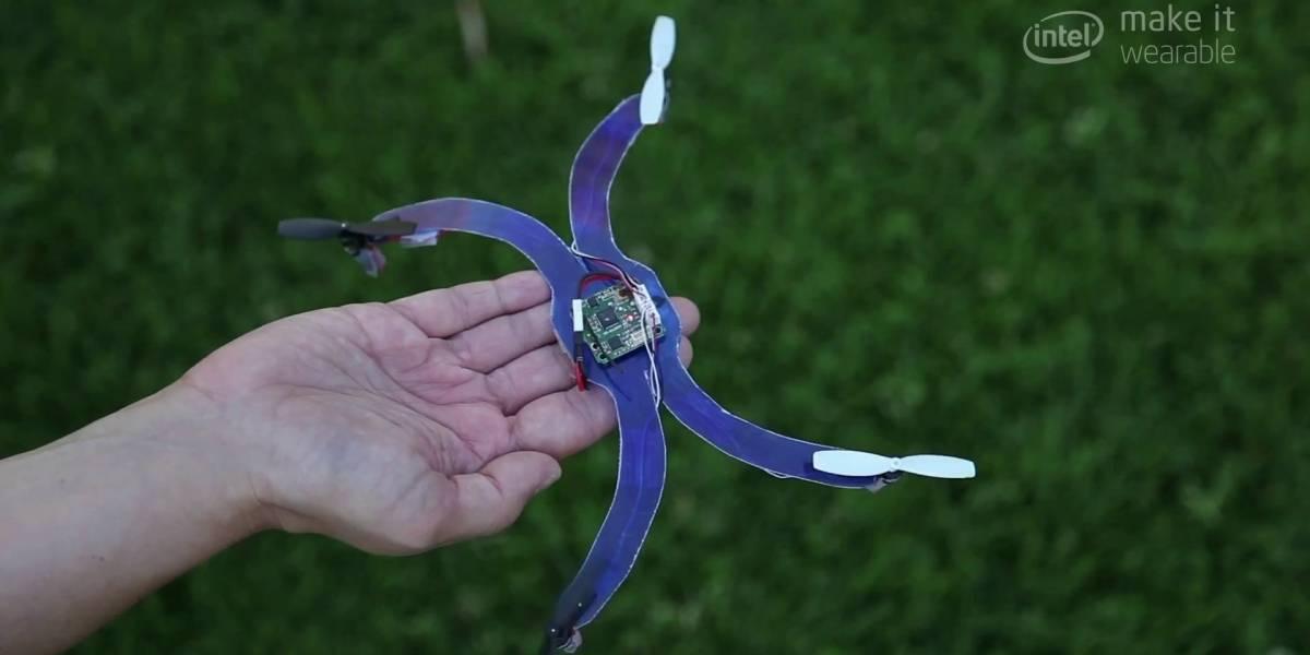 Un dron en tu muñeca para hacerte fotos y seguirte