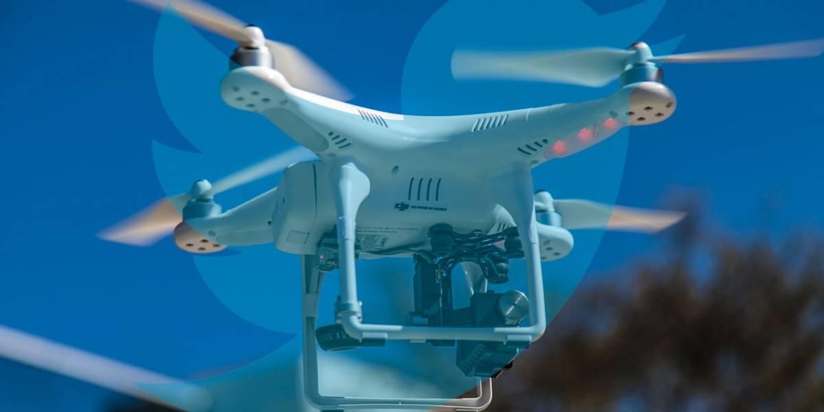 Twitter patenta dron que se controla mediante tuits